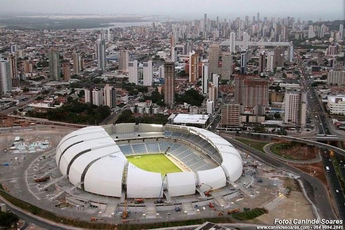 Arena das Dunas: Inauguração preliminar acontece nesta quarta-feira (22) com presença de Dilma Rousseff