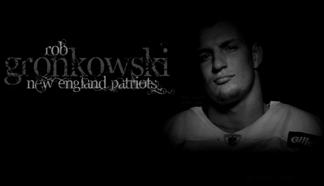 Rob Gronkowski Black And White Background by FBGNEP on DeviantArt