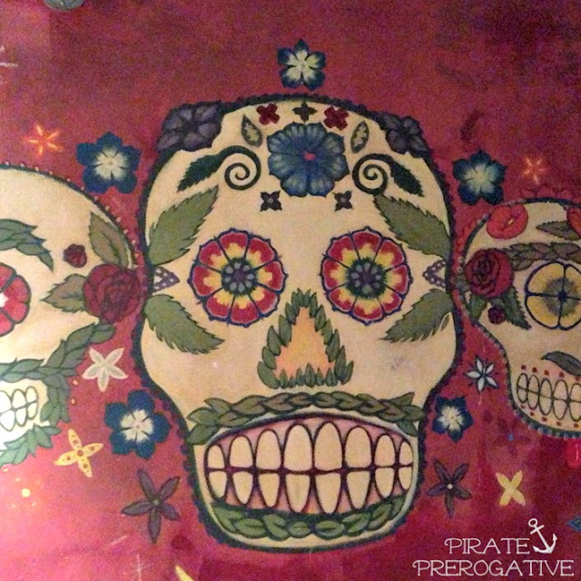 House of Blues San Diego Sugar Skulls Mural