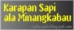 Karapan Sapi nya Orang Minangkabau
