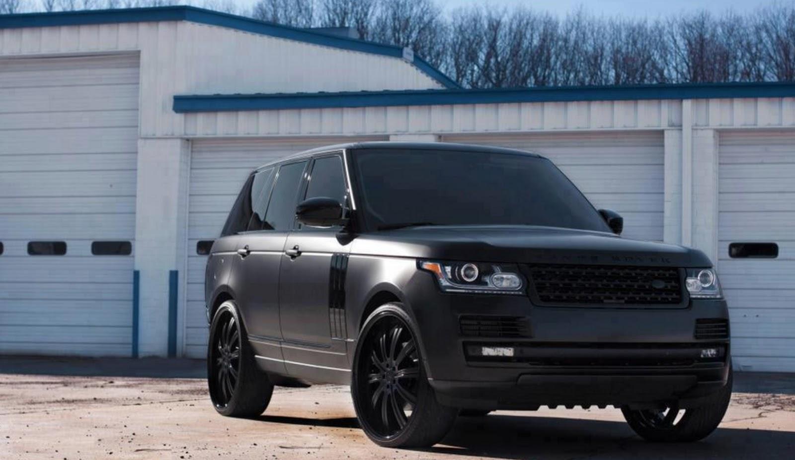 auto 39 wrap range rover covering noir mat. Black Bedroom Furniture Sets. Home Design Ideas