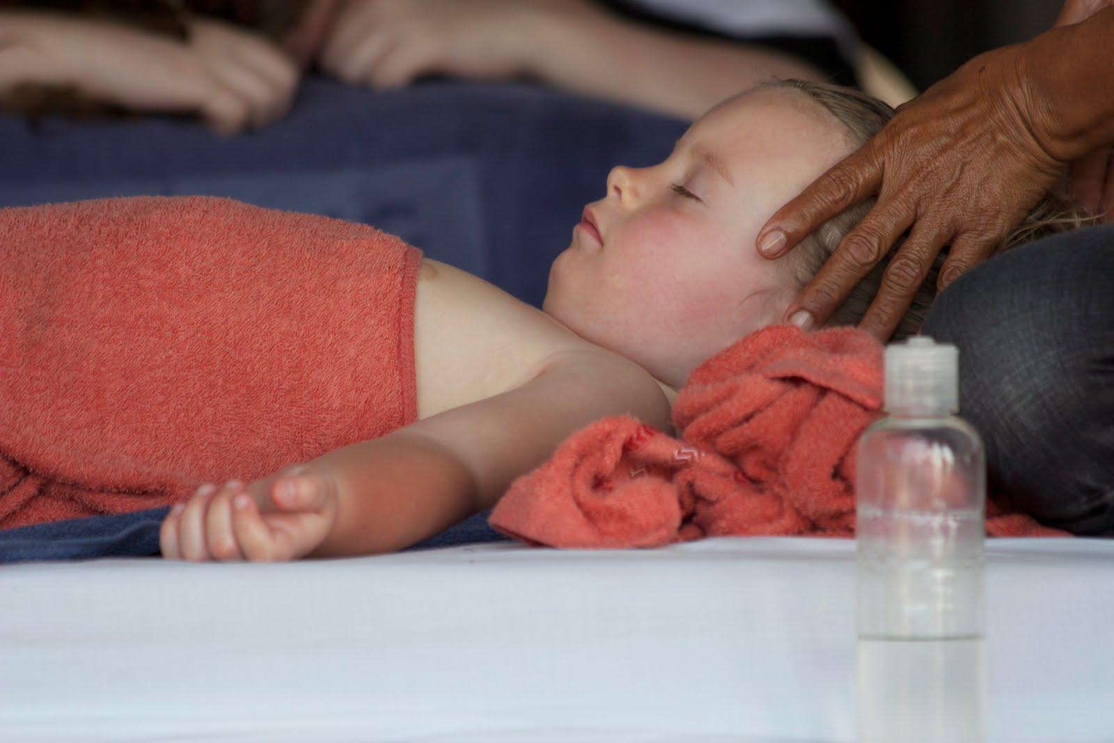 avkopplande massage liten