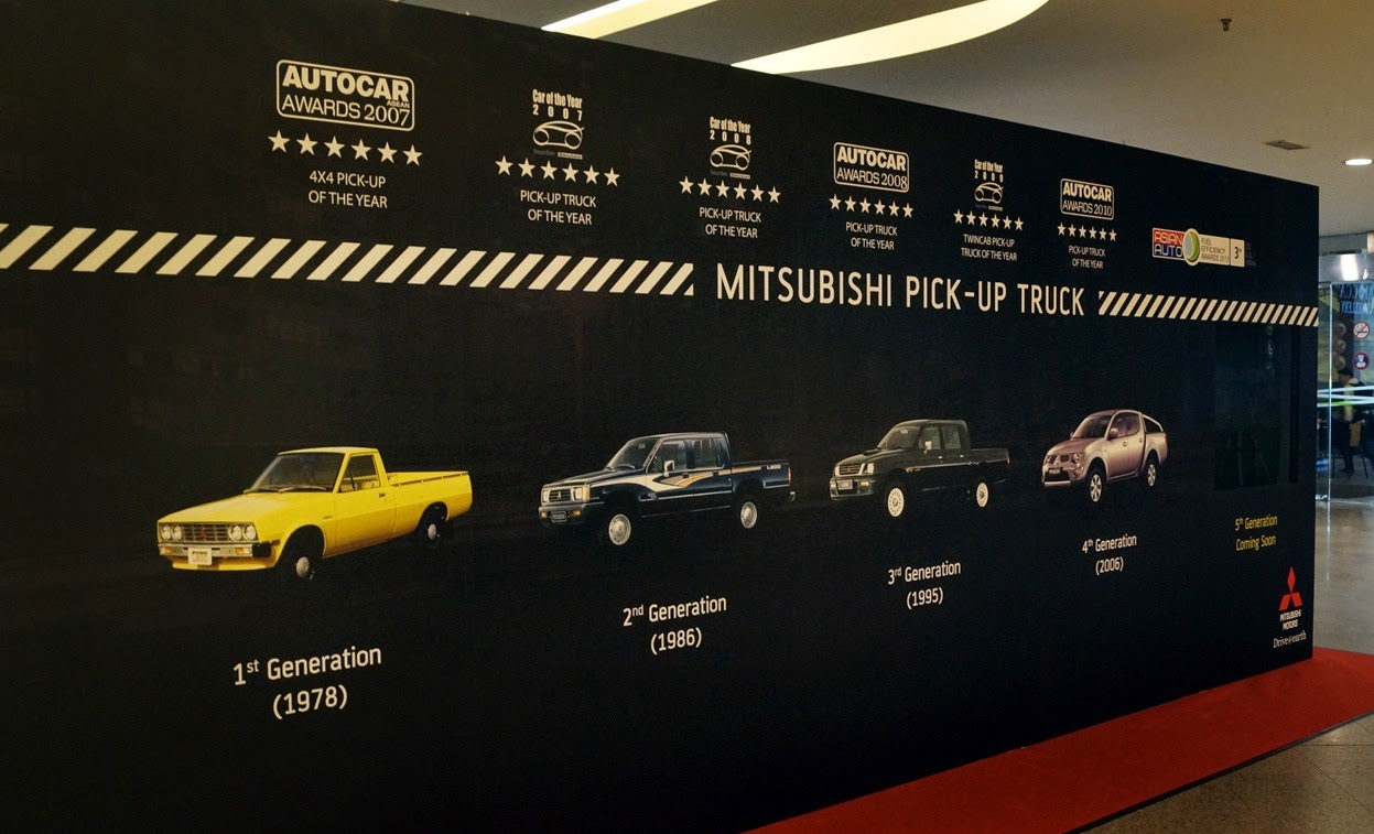 mmc has been producing pick ups for the past 36 years since 1978 and to date overfour million units have been sold worldwide and in malaysia