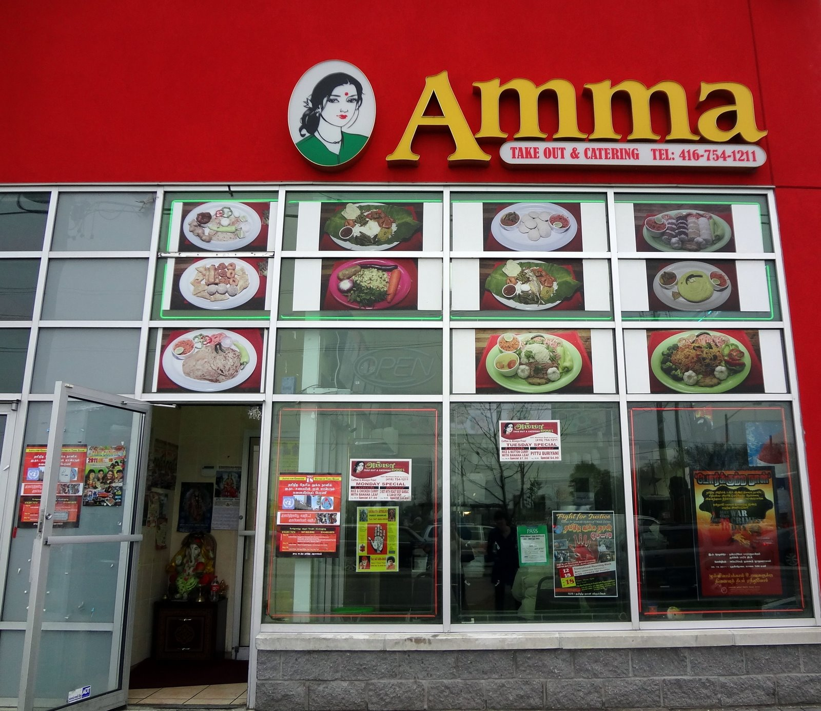 The Tamil Strip Mall Get Six Amazing Dishes Served On A Banana Leaf For 6