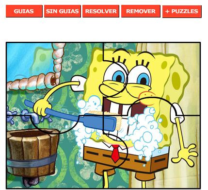 Material de Isaac para Educacion Especial: PUZZLE DE BOB ESPONJA ...