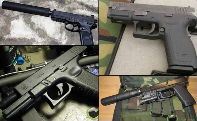 10 Senjata Pistol Terbaik di Dunia