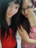 Me & My sis Jomaica. ^^