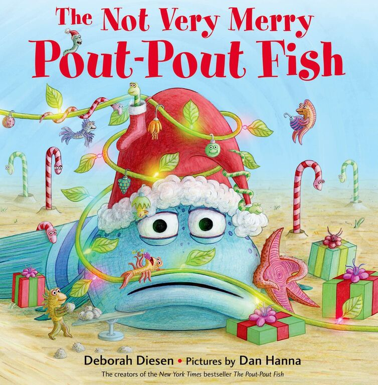 Chat with vera the not very merry pout pout fish a for The pout pout fish book