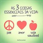 Paz, Amor e Vida Saudável