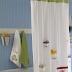 ottery Barn Surf Theme Shower Curtain