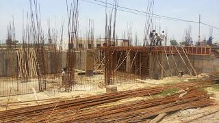 Golf Country, Yamuna Expressway :: Construction Status on July 2014 :-Villa 150 sq yrd Block -G