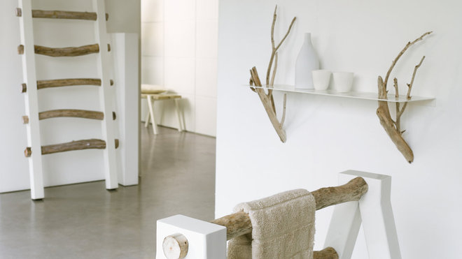 D co tableau personnaliser son int rieur soyez naturel mettez du mobilier en bois tr s - Ambiance salle de bain bois ...