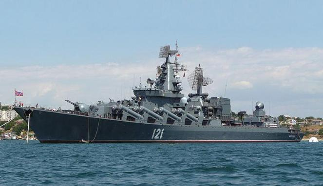 Rusia Kerahkan Kapal Perang Modern