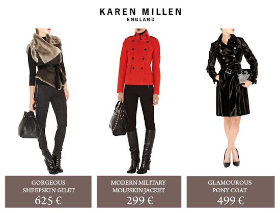 Collection Manteaux Karen Millen