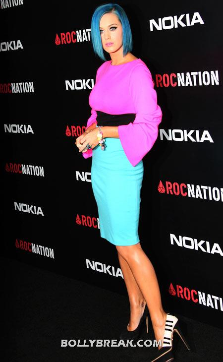 Katy Perry - (14) - Celebrity Pictures in Neon Dresses - Bollywood, Hollywood