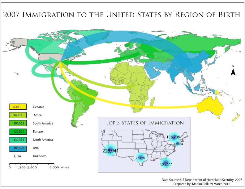 Map CatalogNick Fiorello July - Us flowline immigration map 17th and 18th century