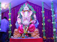 Few Vinayaka Idols in Hyderabad