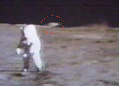 UFO Recorded Landing On The Moon In Apollo 15 Footage, UFO Sighting News