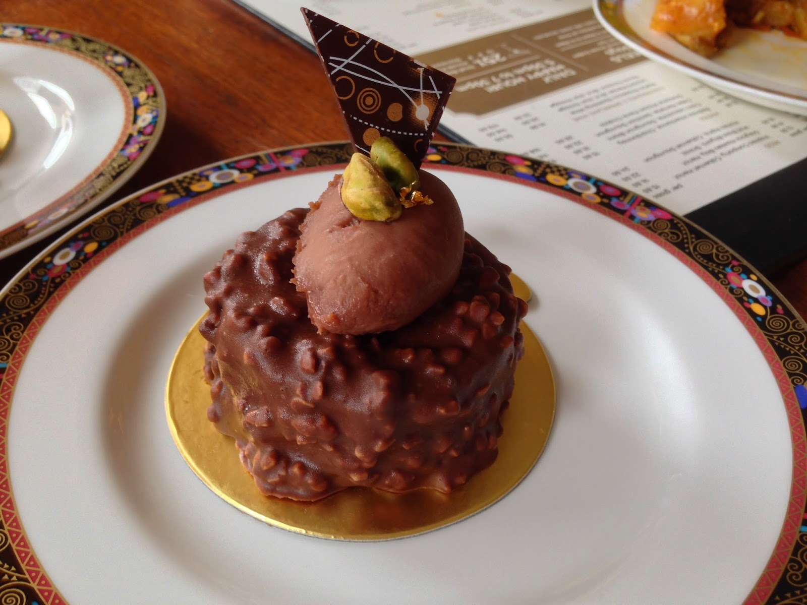 Glazed Macadamia Chocolate Fondant