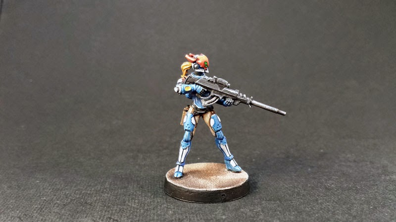 NEOTERRA BOLTS - PANOCEANIA - INFINITY THE GAME - MULTI SNIPER RIFLE 5
