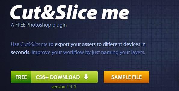 Cut&Slice me Photoshop Plugins