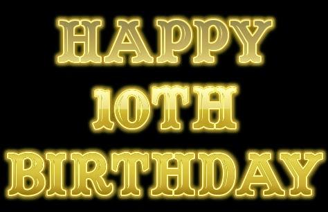 Happy 10th birthday
