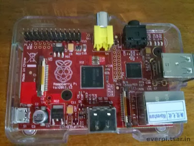 Raspberry Pi vermelho