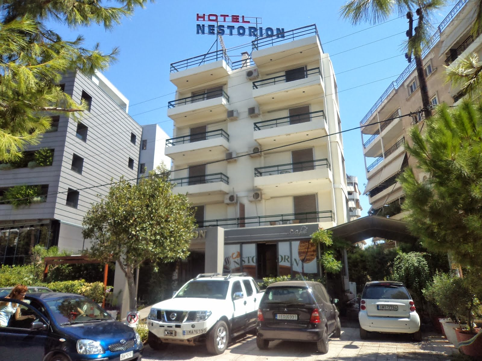 Nest stay Athens visit