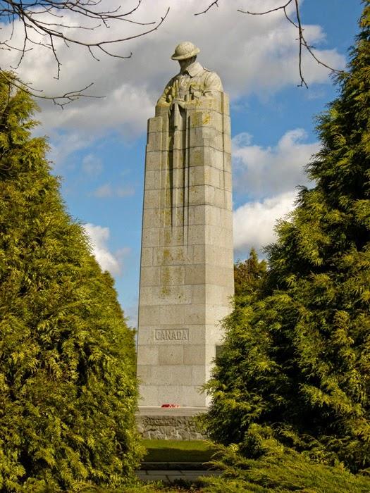 Canada, Vancouver Corner, memorial, gas attack 1915, Ypres.