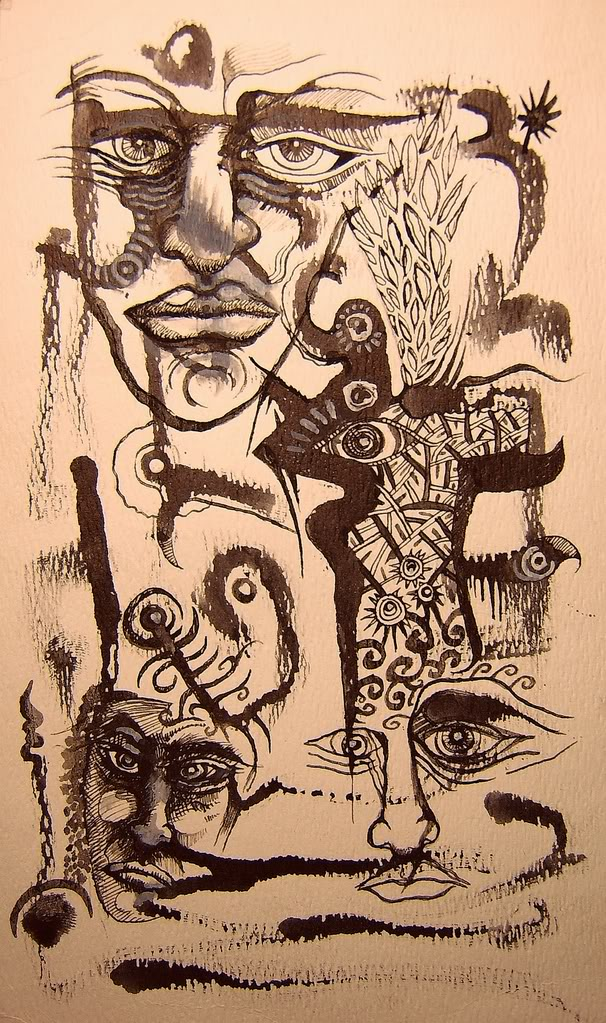 i miei disegni come graffi...