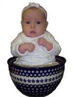 Polish Pottery Baby