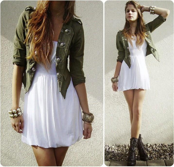 Looks vestido longo com bota