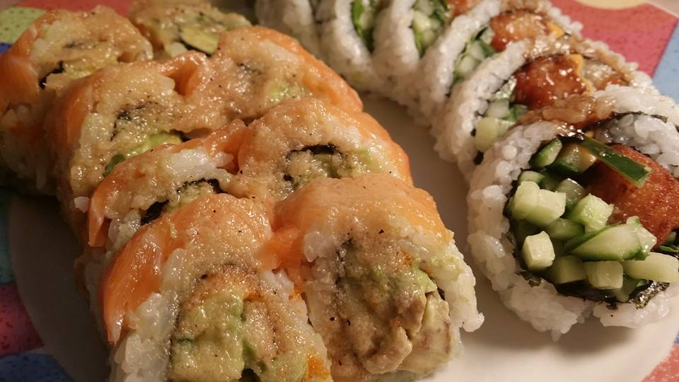 Sophia Eats: SUSHI GARDEN (on Kingsway): TAKE-OUT SUSHI