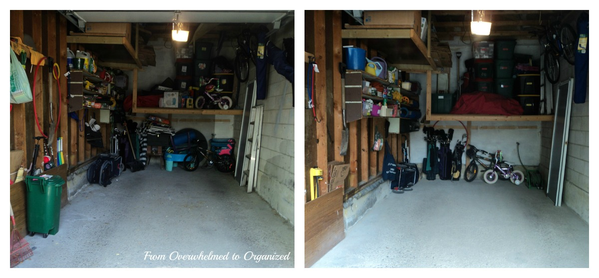 Garage Clean Out Part 2 From Overwhelmed To Organized