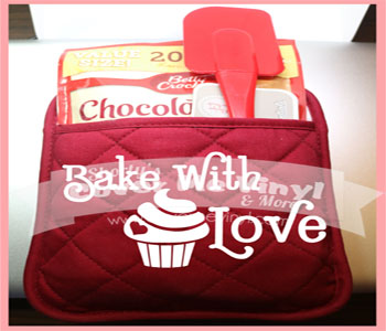 Oven Mitt Kit (Baked With Love)