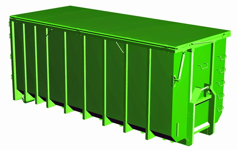 Пример сельскохозяйственного контейнера DIN 30722