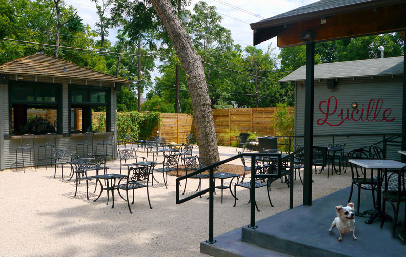 Lucille Patio Lounge | Rainey Street Bars and Restaurants | Austin