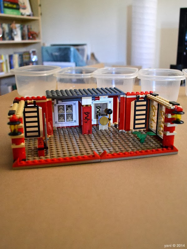 lego ninjago temple of light - the first floor of the temple