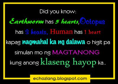 Kapag nagmahal ka ng dalawa o higit pa,  simulan mo na magtanong kung anong klaseng hayop ka.