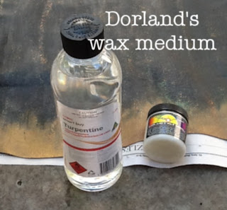 Dorlands wax medium as art sealant