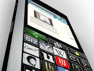 MozPhone Throw-away Concept: OLED Blackberry 3