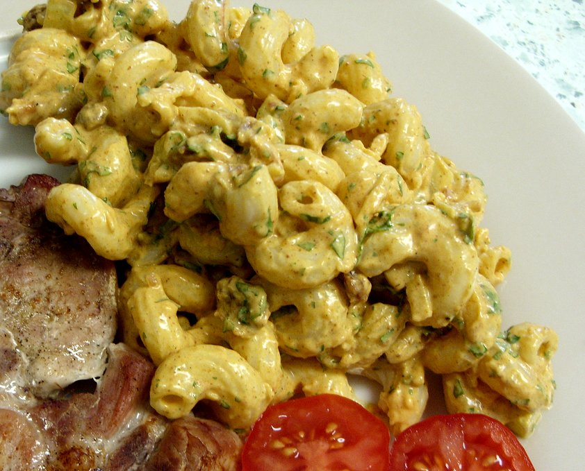 Curried Chicken Pasta Salad Recipes — Dishmaps