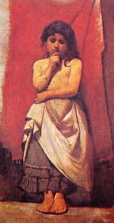 pintura caboclinha - Eliseu Visconti