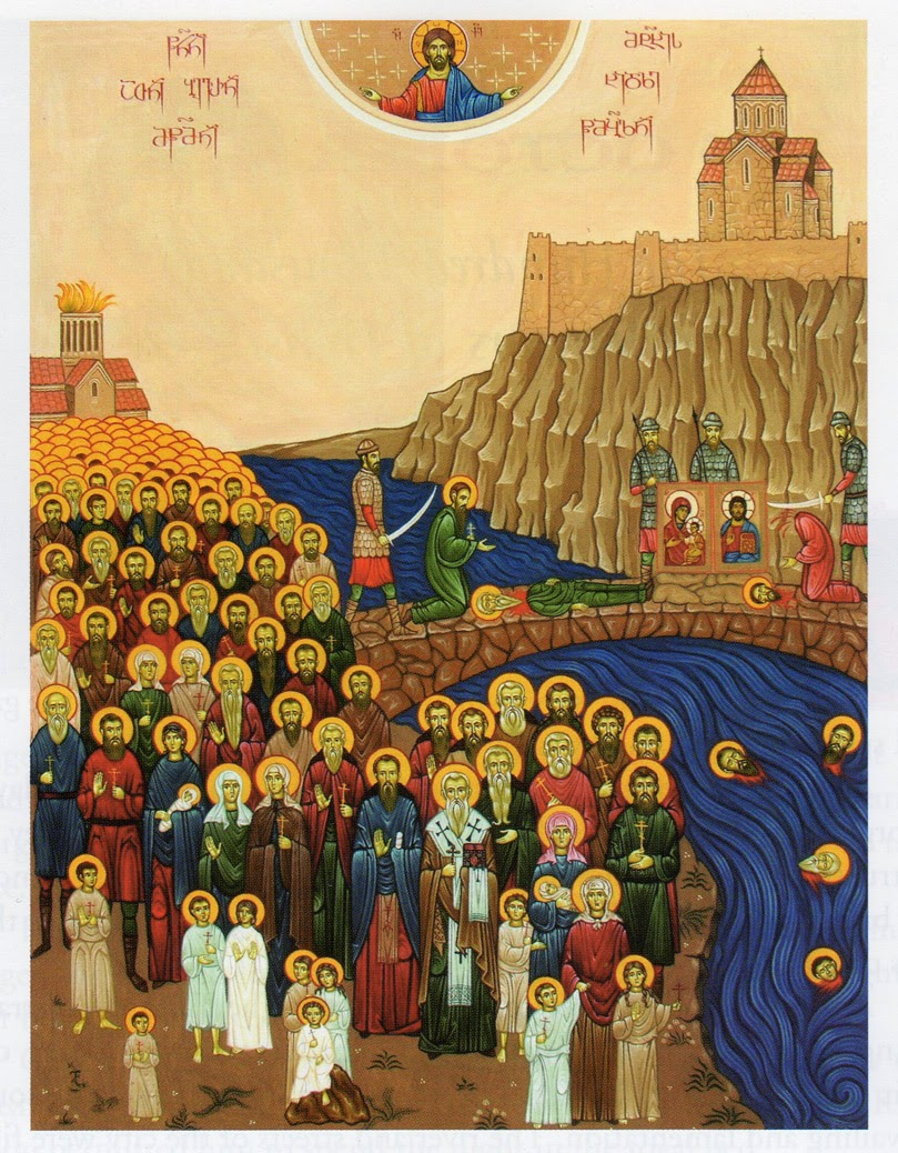The 100,000 Martyrs of Tbilisi, Georgia