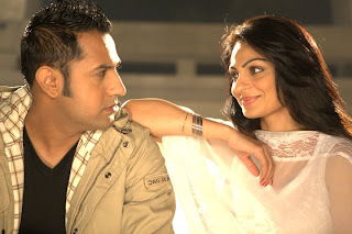 gippy grewal with wife