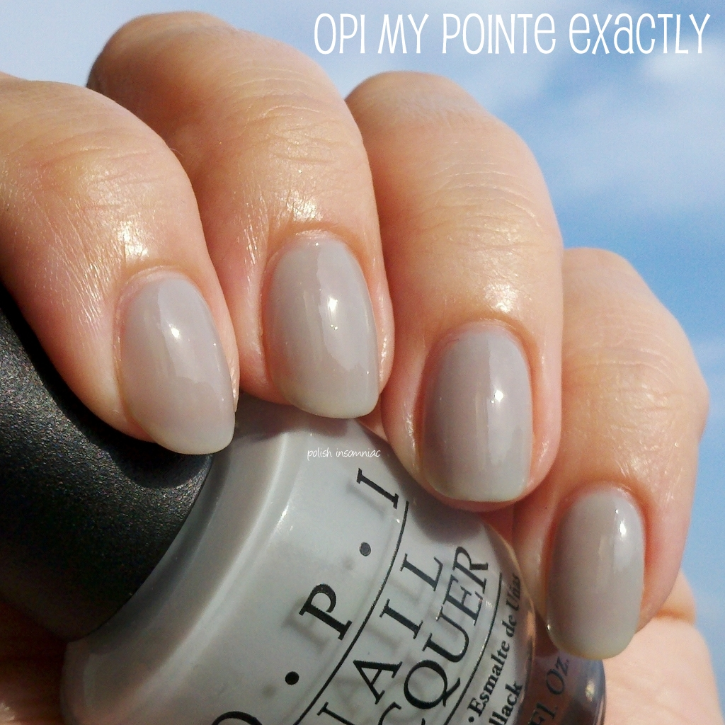 polish insomniac: OPI My Pointe Exactly... one of my new Top 20 polishes