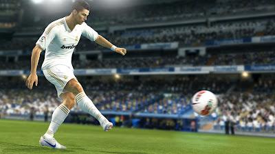 Cristiano Ronaldo screen : PES 2013 (2)
