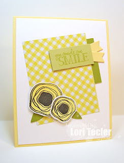 You Make Me Smile card-designed by Lori Tecler/Inking Aloud-stamps from Verve Stamps
