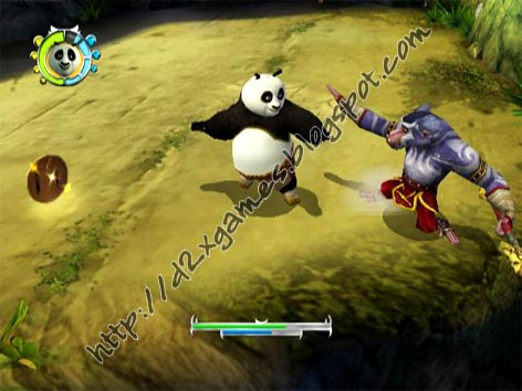 Free Download Games - Kung Fu Panda