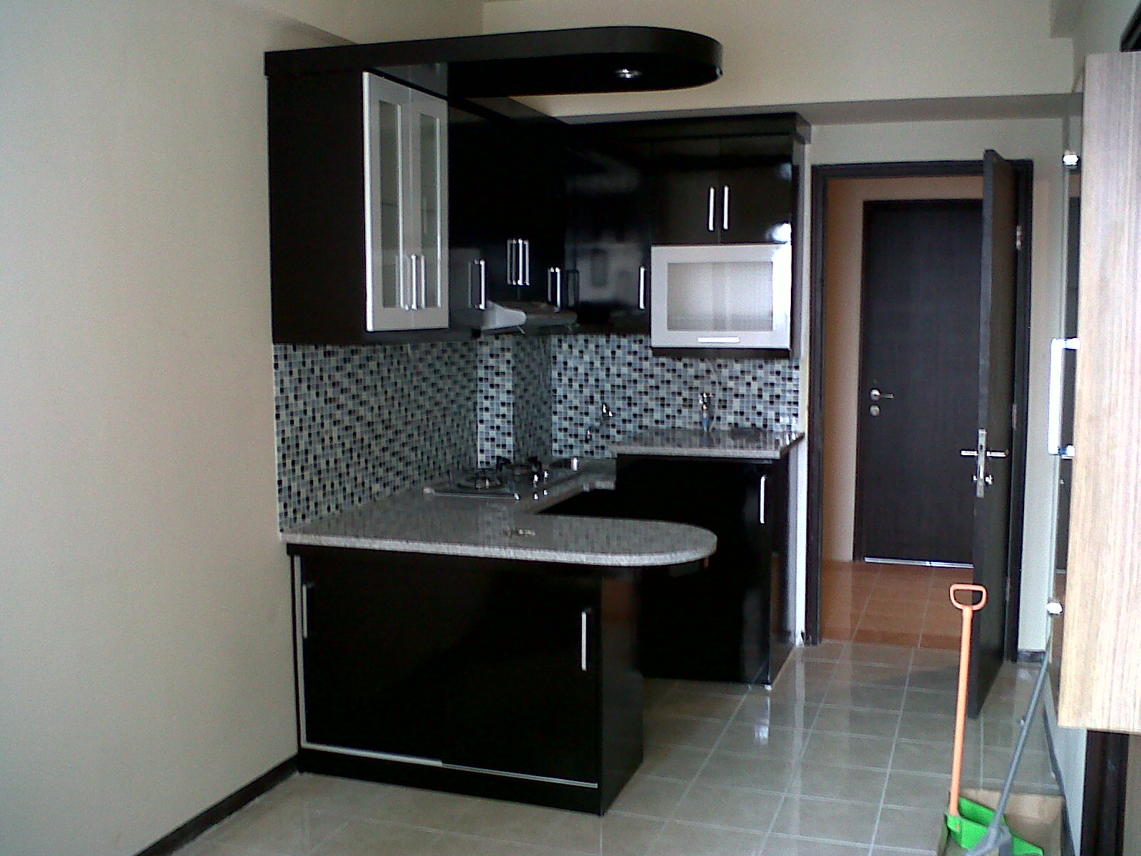 Kitchenset minimalis for Harga kitchen set per meter lari